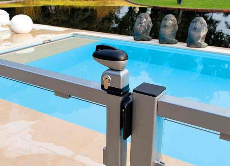 Serrure de piscine