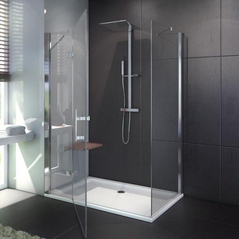 Cabine et paroi de douche
