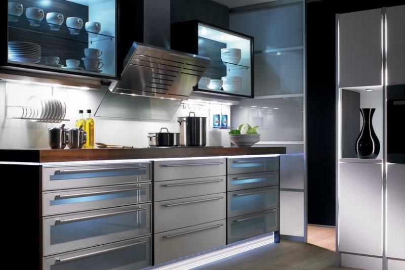 cuisine avec LED