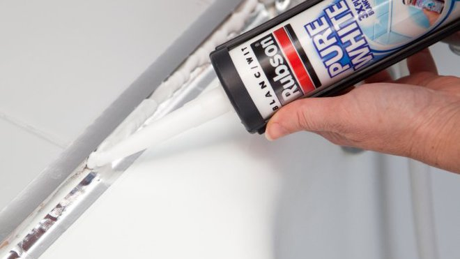 Mastic joint sanitaire