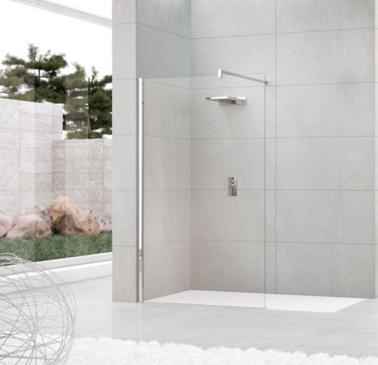 Poser paroi de douche