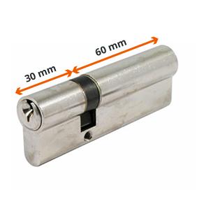 Mesure d'un cylindre de serrure