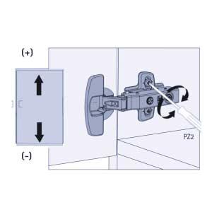 reglage hauteur trou oblong