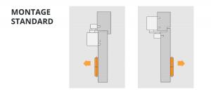 montage standard ferme porte