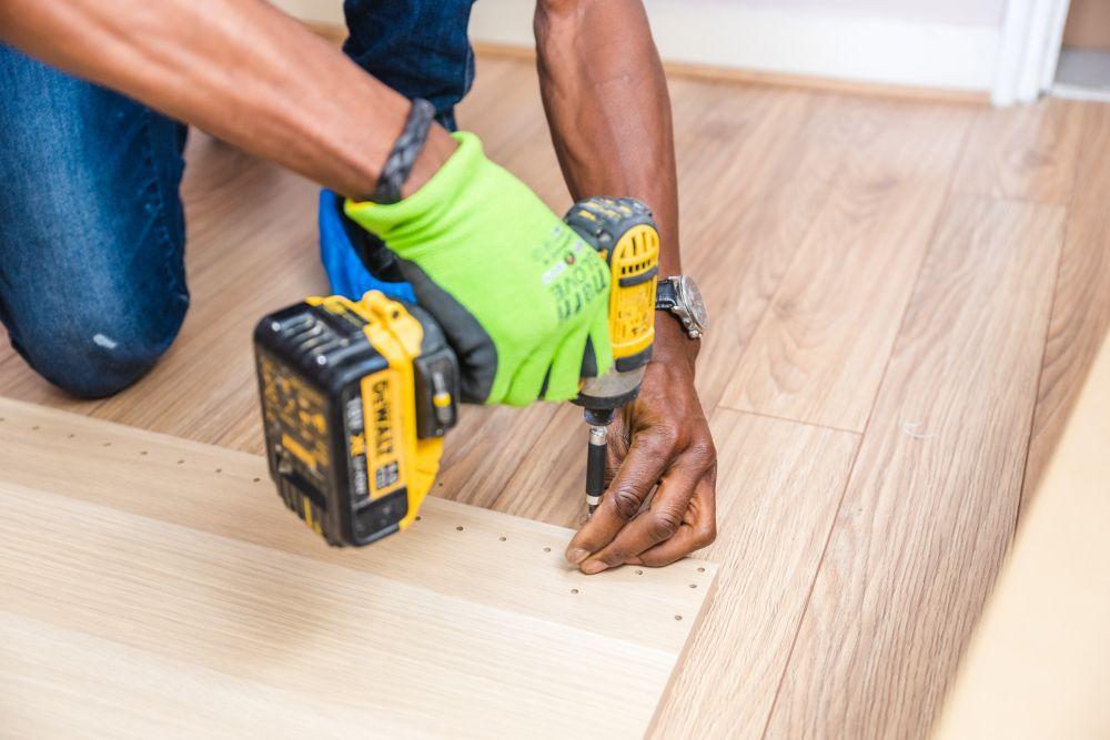 Construire plancher bois