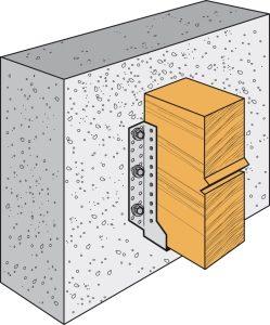 plancher fixation béton
