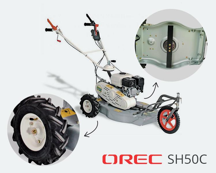 Tondeuse débrouissalleuse Orec SH50C