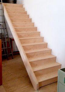Escalier en bois DIY
