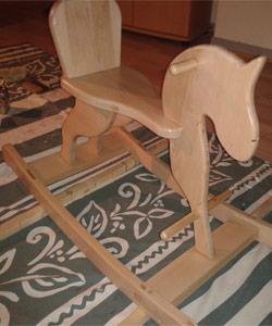 Cheval à bascule DIY