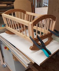 Landeau bébé DIY