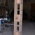 colonne sortie atelier DIY