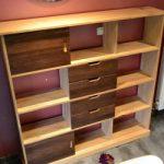 Meuble rangement bois DIY