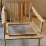 Chaise en bois DIY