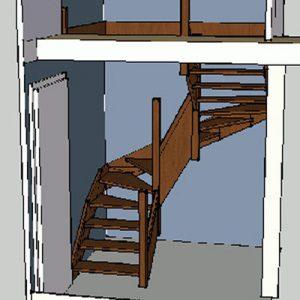 Diy Faire Un Meuble De Rangement Sous L Escalier