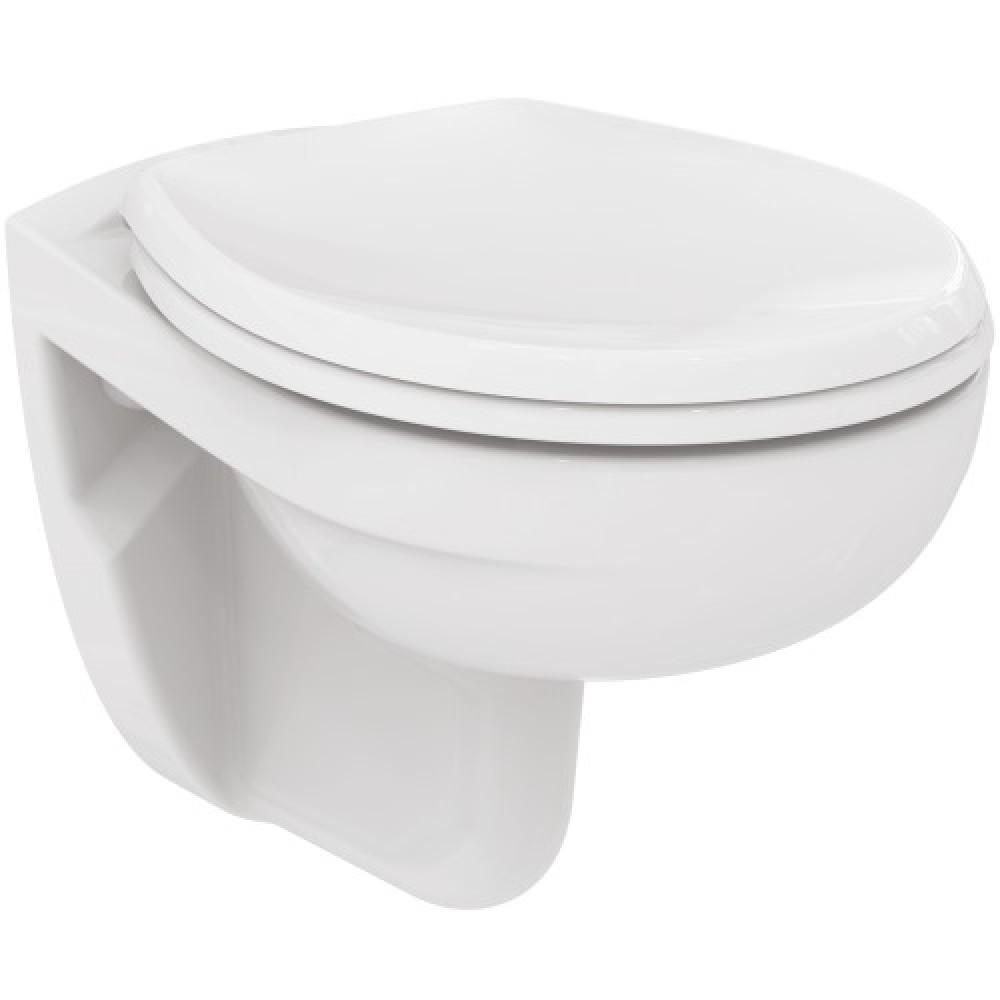 Cuvette WC suspendue - sans bride avec abattant - Matura PORCHER