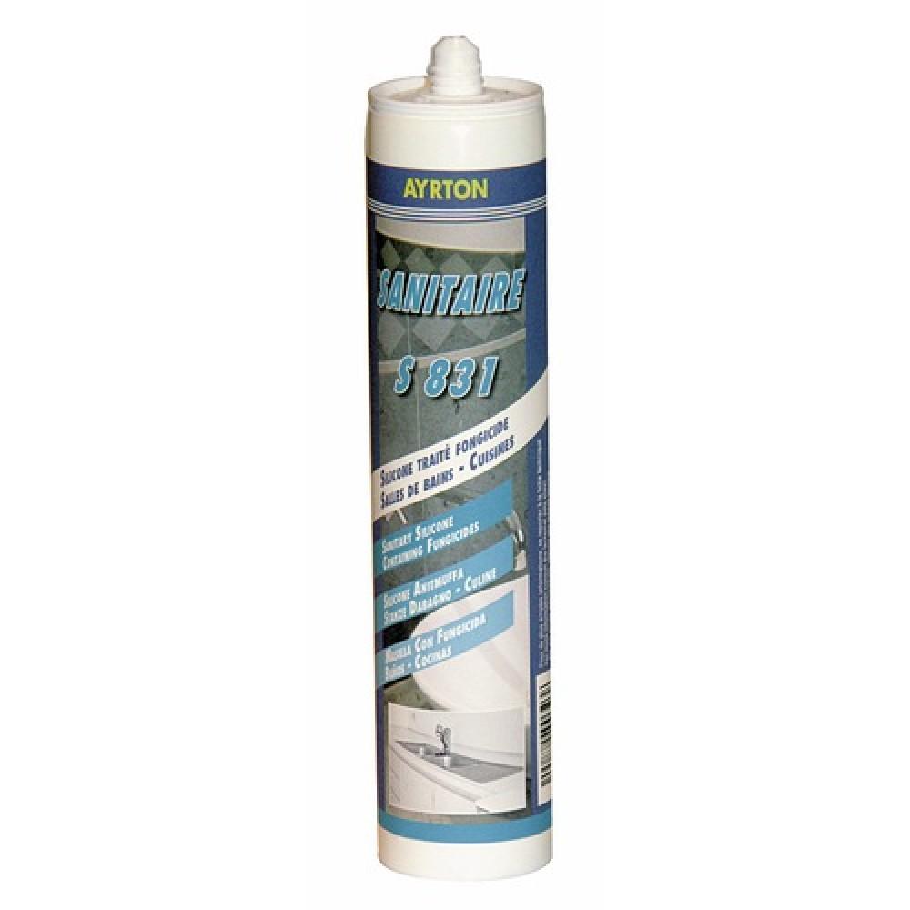 Mastic silicone acétique S 831 pour sanitaire AYRTON