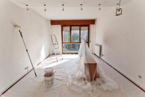 Préparer la pièce pour peindre