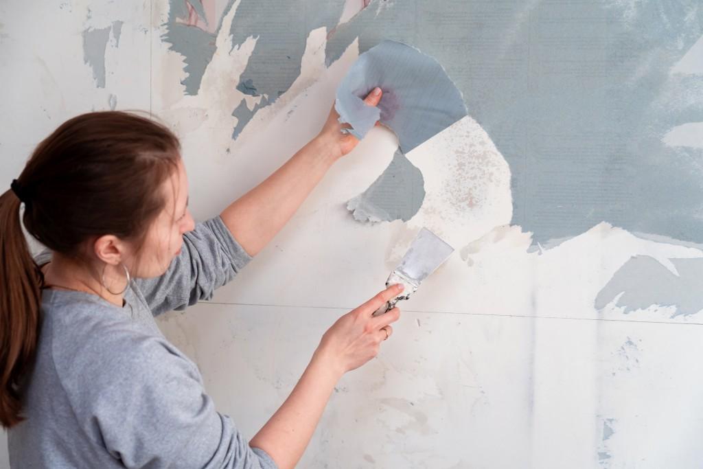 Retirer papier peint
