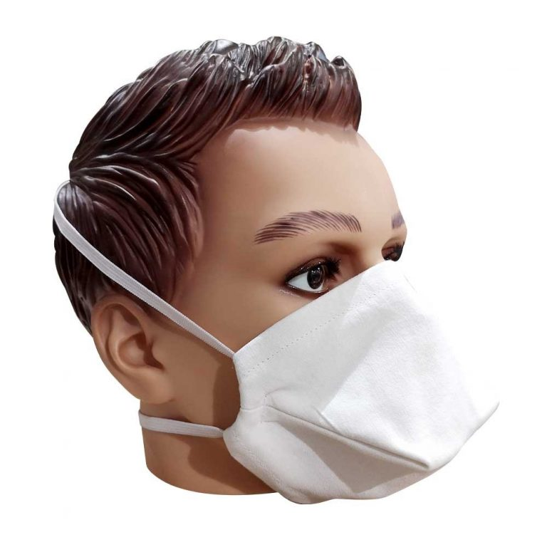 Masque en tissu bec de canard afnor