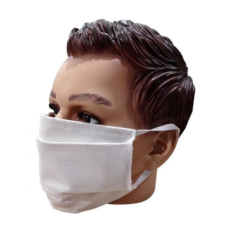 Masque en tissu à pli lavable
