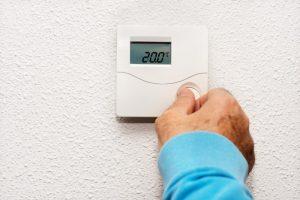 Réglage thermostat d'ambiance radiateur