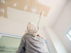 blanc couleur plafond