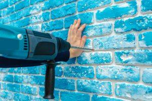 Percer mur pierre