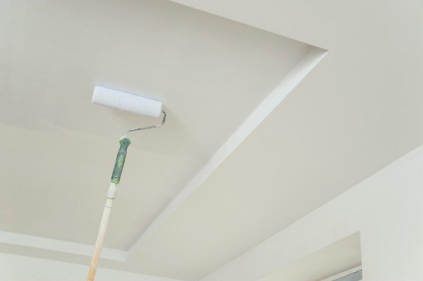 peinture rouleau plafond