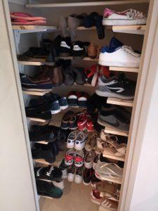 Etagère pour placard à chaussures