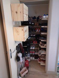 Rangement caisson placard à chaussures