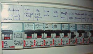 tableau electrique chauffe eau