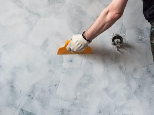 enduit platoir mur