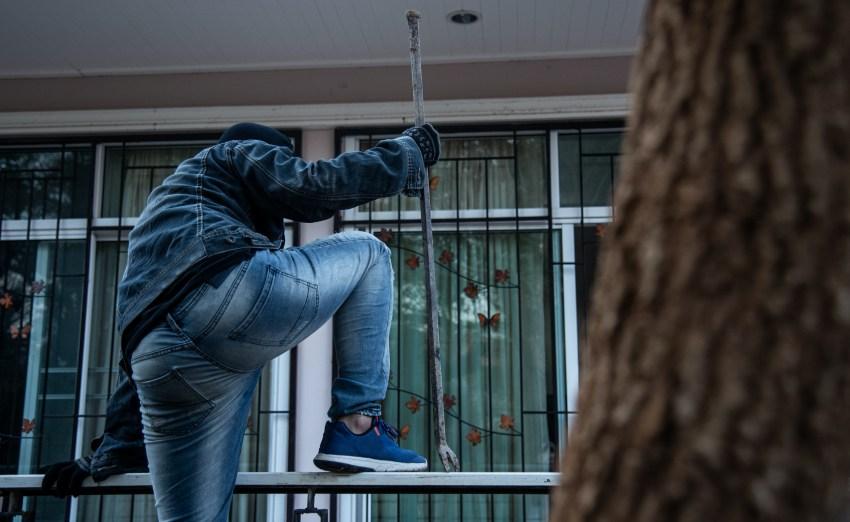 voleur cambriolage maison