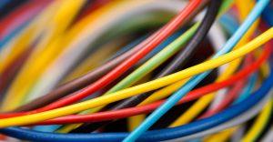 fil electrique ancien