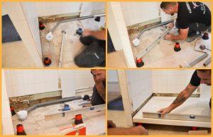 Installation cabine douche étape par étape