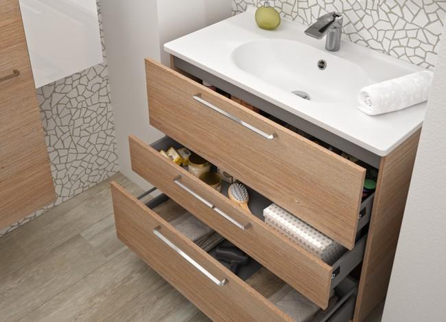 meuble salle bain ouvert