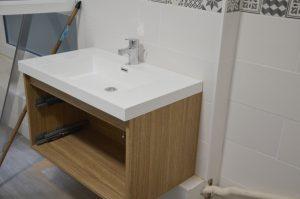 evier meuble salle bain