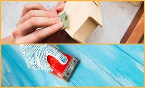 Abrasif sur support papier et cale à poncer
