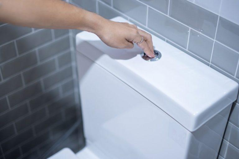 chasse eau salle bain
