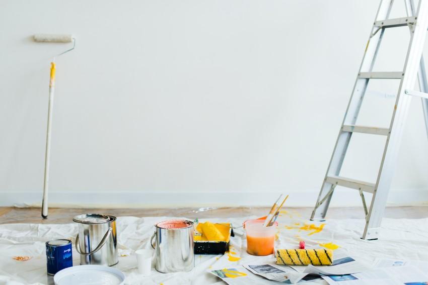 outils peinture travaux
