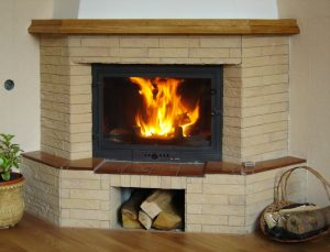 insert bois foyer cheminee ancienne