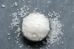 gros sel nettoyage crepi