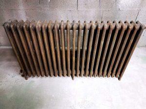 decapage radiateur fonte