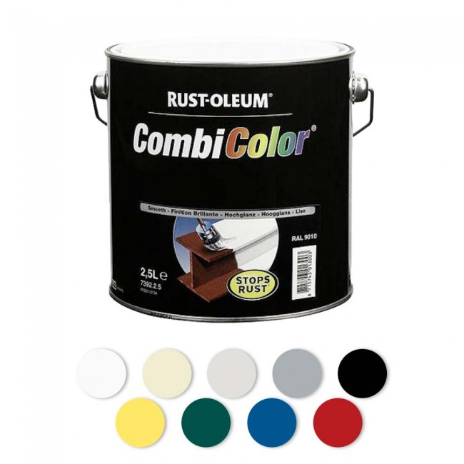 peinture antirouille combicolor rust oleum